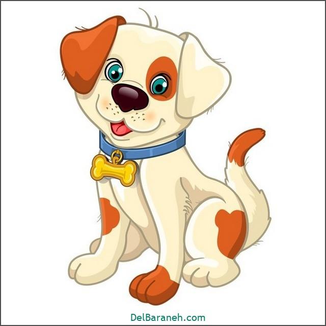 نقاشی سگ برای بچه ها (۱)