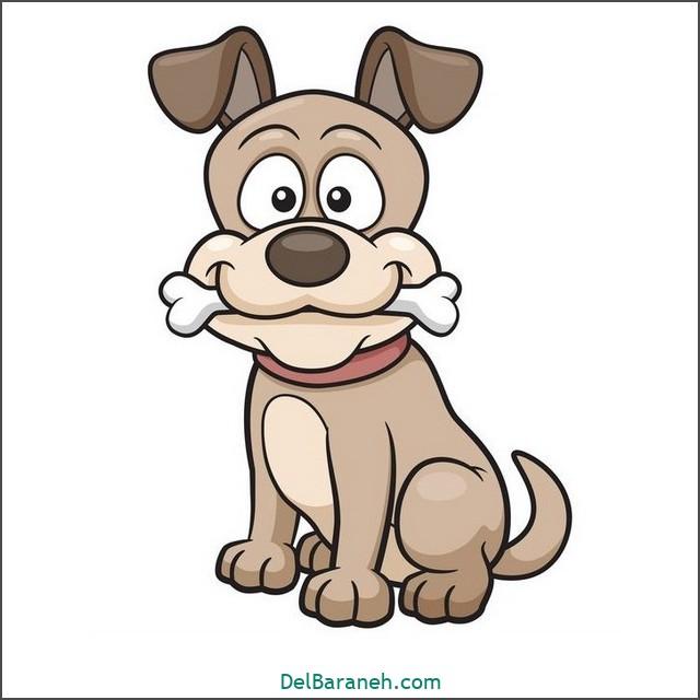 نقاشی سگ برای بچه ها (۲)