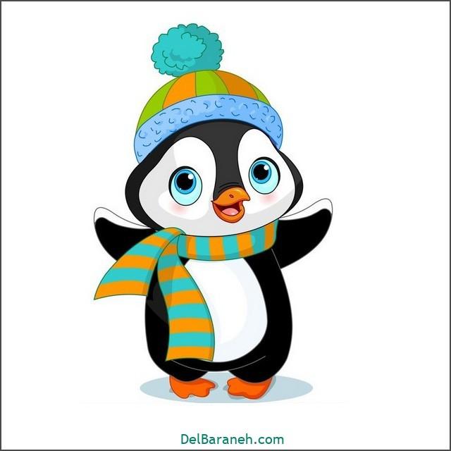 نقاشی پنگوئن برای بچه ها (۲)