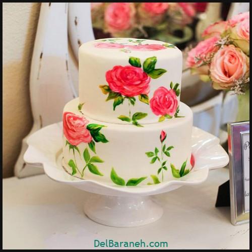 کیک تولد دخترانه (۱)