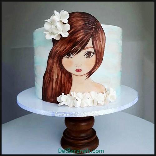 کیک تولد دخترانه (۳۴)