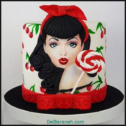کیک تولد دخترانه (۳۵)