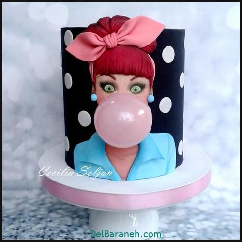 کیک تولد دخترانه (۴)