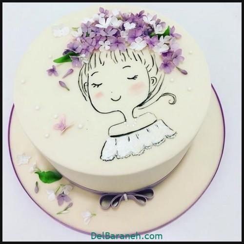 کیک تولد دخترانه (۴۵)
