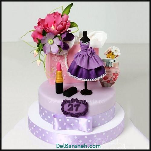کیک تولد دخترانه (۵۰)