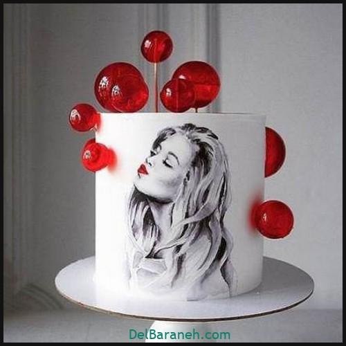 کیک تولد دخترانه (۶)