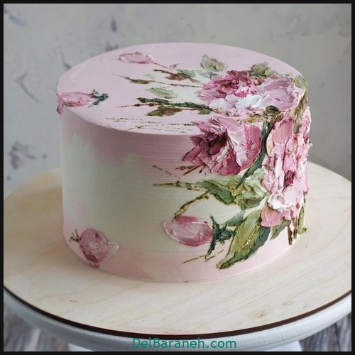 کیک تولد دخترونه (۲)