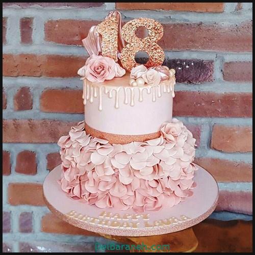 کیک تولد دخترونه (۸)