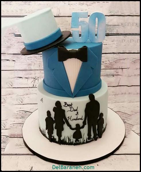 کیک تولد مردانه (۱۷)