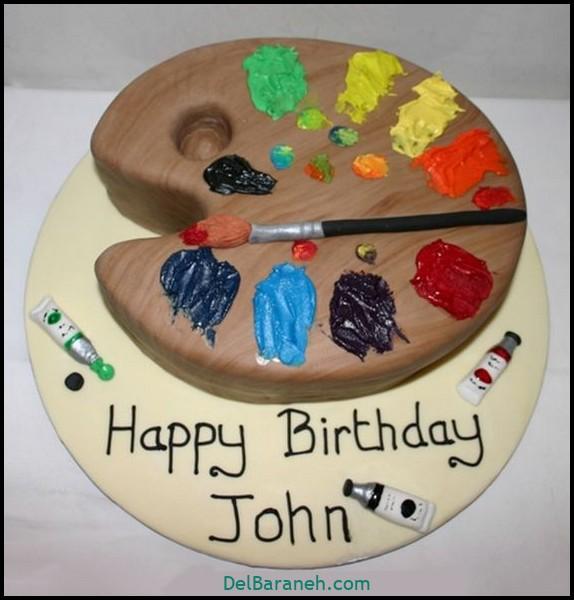 کیک تولد مردانه (۲۶)