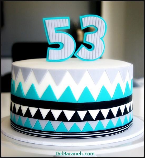 کیک تولد مردانه (۳۵)