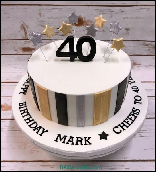 کیک تولد مردانه (۸)