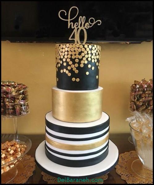 کیک تولد مردانه (۹)