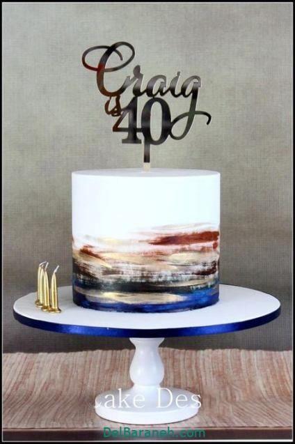 کیک تولد مردونه (۳۰)