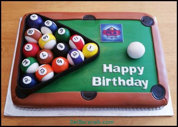 کیک تولد مردونه (۴۰)