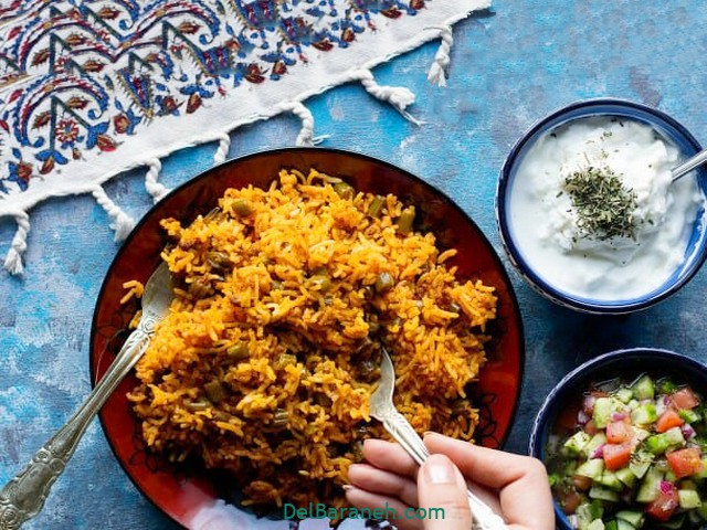 انواع پلو و برنج برای گیاه خواران