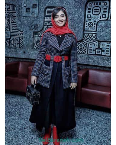 مدل مانتو زیبا کرمعلی در جشنواره فیلم فجر ۹۸