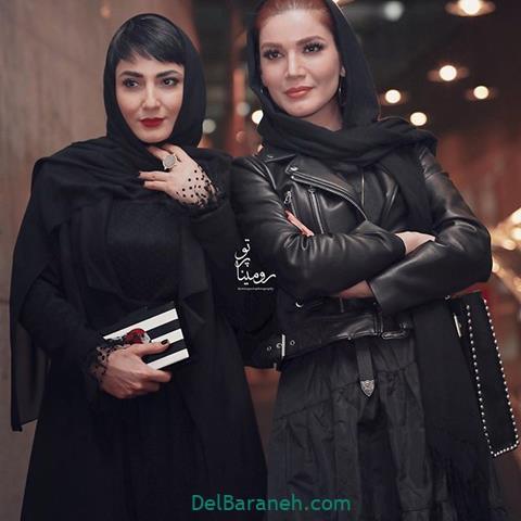 مدل مانتو متین ستوده و سمیرا حسنپور در جشنواره فیلم فجر 98