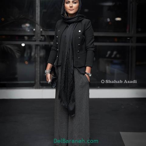 مدل مانتو هدی زین العابدین در جشنواره فیلم فجر 98