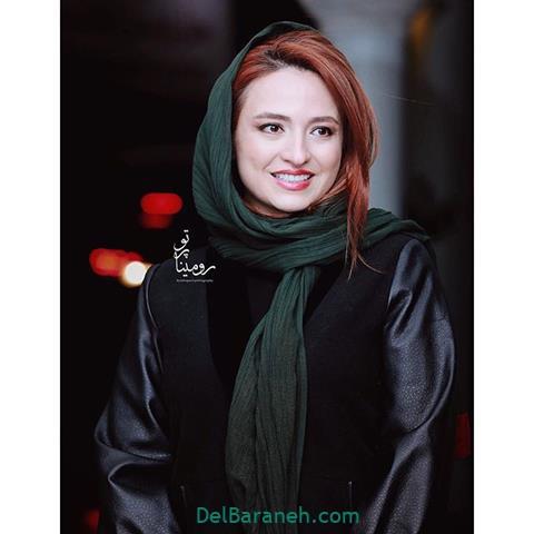 مدل مانتو گلاره عباسی در جشنواره فیلم فجر 98