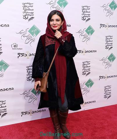 مدل مانتو لیندا کیانی در جشنواره فیلم فجر 98