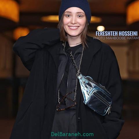 مدل مانتو فرشته حسینی در جشنواره فیلم فجر 98