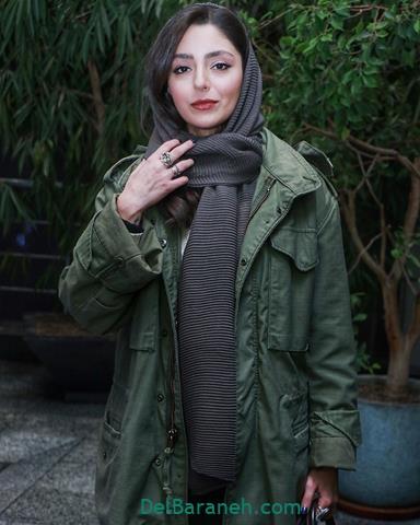 مدل مانتو هستی مهدوی در جشنواره فیلم فجر 98