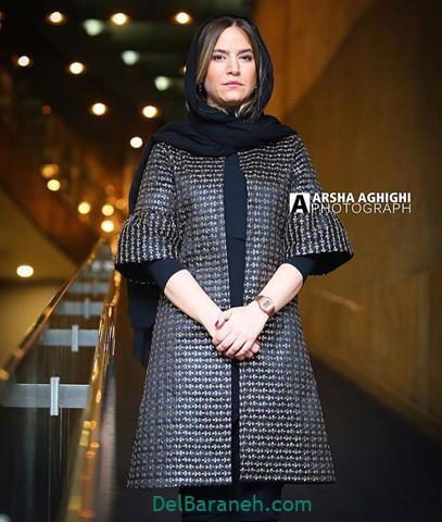 مدل مانتو ستاره پسیانی در جشنواره فیلم فجر 98