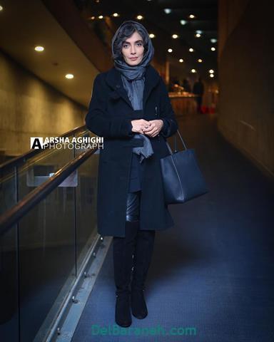 مدل مانتو لیلا زارع در جشنواره فیلم فجر 98