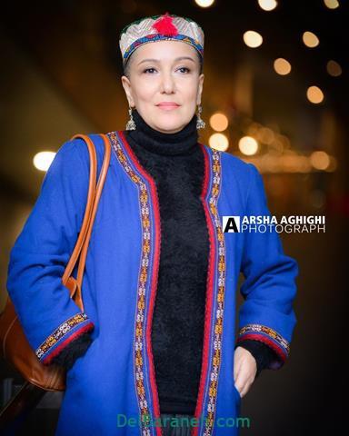 مدل مانتو پانته آ بهرام در جشنواره فیلم فجر 98