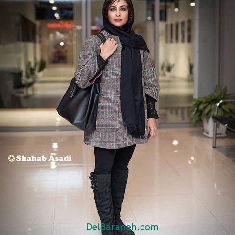 مدل مانتو حدیثه تهرانی در جشنواره فیلم فجر 98