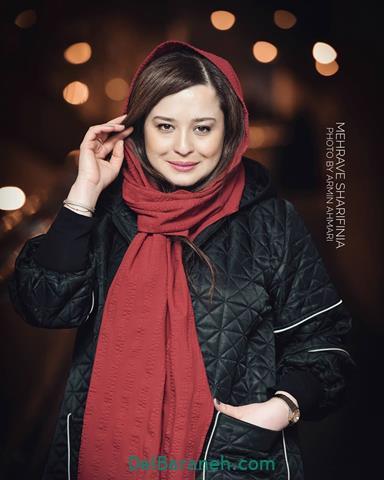 مدل مانتو مهراوه شریفی نیا در جشنواره فیلم فجر 98