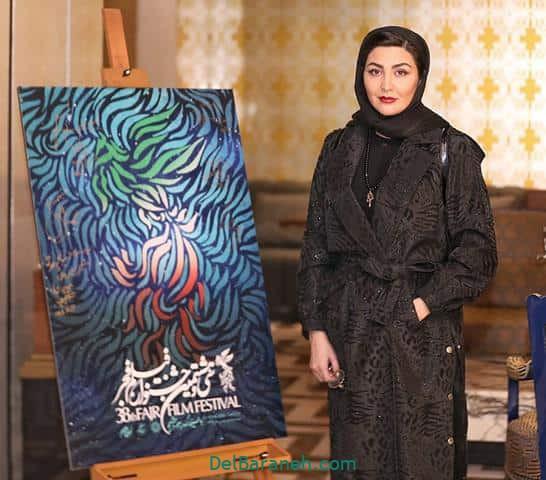 مدل مانتو مریم معصومی در جشنواره فیلم فجر 98