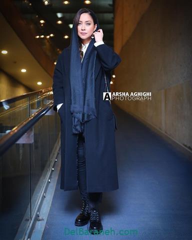 مدل مانتو بهاره کیان افشار در جشنواره فیلم فجر 98