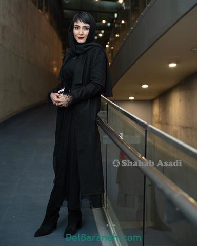مدل مانتو سمیرا حسن پور در جشنواره فیلم فجر 98