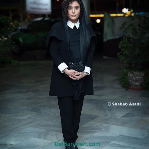 مدل مانتو الناز شاکر دوست در جشنواره فیلم فجر 98