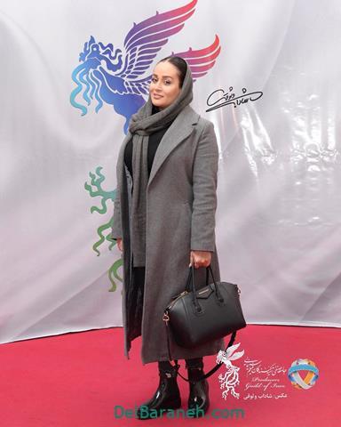 مدل مانتو مونا شناس در جشنواره فیلم فجر 98