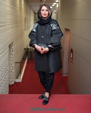 مدل مانتو پاوان افسر در جشنواره فیلم فجر 98