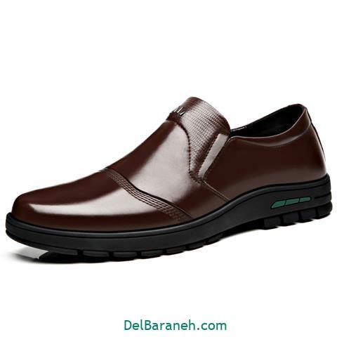 کفش چرم مردانه و پسرانه (۳۴)