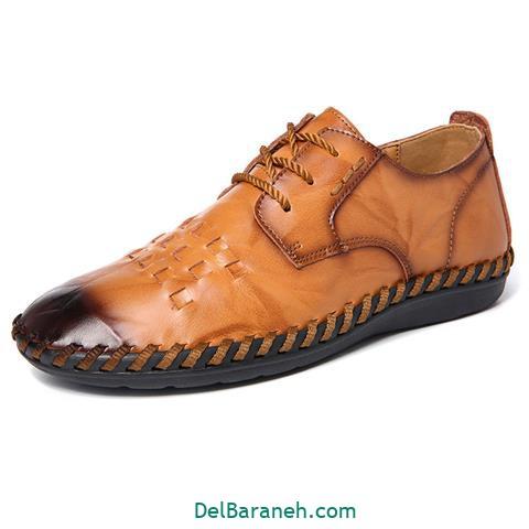 کفش چرم مردانه و پسرانه (۳۵)