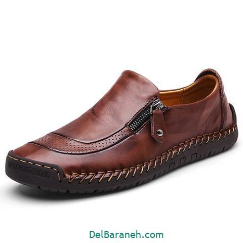 کفش چرم مردانه و پسرانه (۴۱)