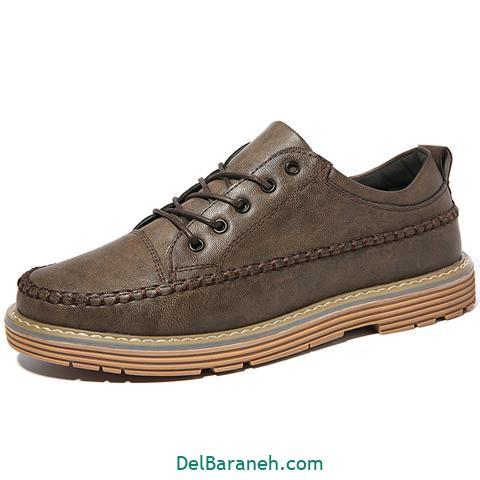 کفش چرم مردانه و پسرانه (۴۴)
