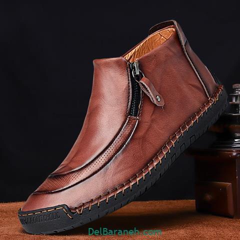 کفش چرم مردانه و پسرانه (۴۶)