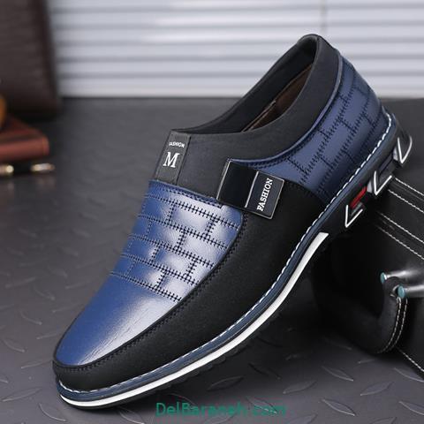 کفش چرم مردانه و پسرانه (۵۵)