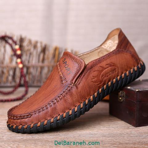 کفش چرم مردانه و پسرانه (۶۱)
