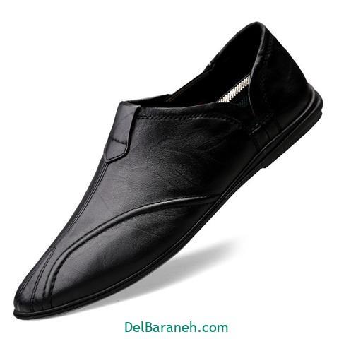 کفش چرم مردانه و پسرانه (۶۳)