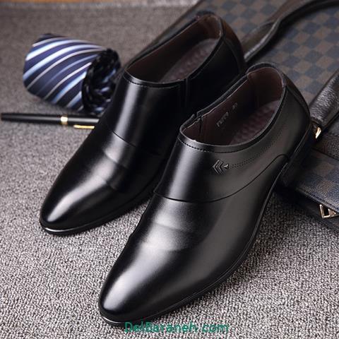 کفش چرم مردانه و پسرانه (۶۸)