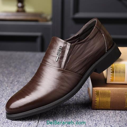 کفش چرم مردانه و پسرانه (۷۰)
