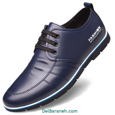 کفش چرم مردانه و پسرانه (۷۵)