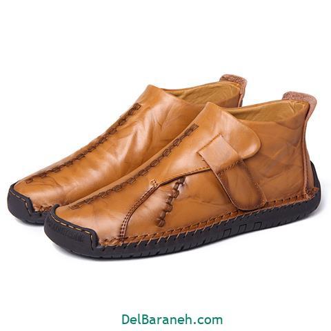 کفش چرم مردانه و پسرانه (۷۶)